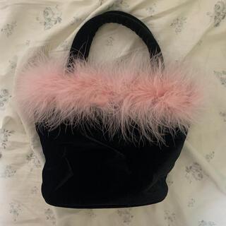 ロキエ(Lochie)のtheVirgins velvet vanity bag(ハンドバッグ)