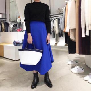 エンフォルド(ENFOLD)の#01 ENFOLD ¥28,600 ダブルクロスヘムスカート期間限定販売(ロングスカート)