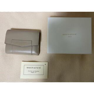 メゾンキツネ(MAISON KITSUNE')のmaison kitsune 3つ折り財布(財布)