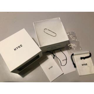 ハイク(HYKE)のHYKE イヤーカフ silver(イヤーカフ)