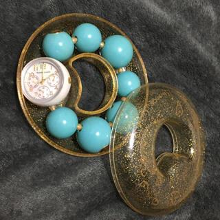 ツモリチサト(TSUMORI CHISATO)の❤️お値下げ❤️ツモリチサト❤️ハッピーボールウォッチ❤️ターコイズブルー❤️(腕時計)