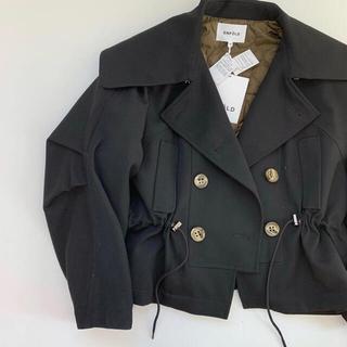 ENFOLD - ENFOLD ショートジャケット ブラック38
