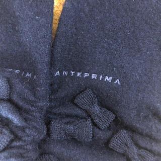 ANTEPRIMA - アンテプリマ カシミヤ混ニット手袋リボン黒