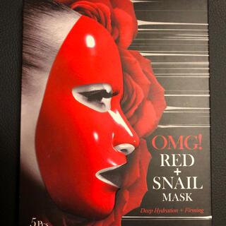 OMG! Red Snail Mask 5箱(+3枚付)(パック/フェイスマスク)