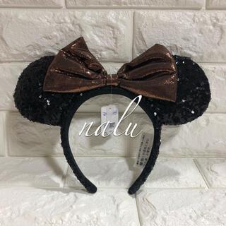ディズニー(Disney)の香港ディズニー♡ミニースパンコールカチューシャ 正規品(カチューシャ)
