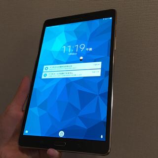 ギャラクシー(Galaxy)のGALAXY Tab S 8.4 SC-03G docomo 美品(タブレット)