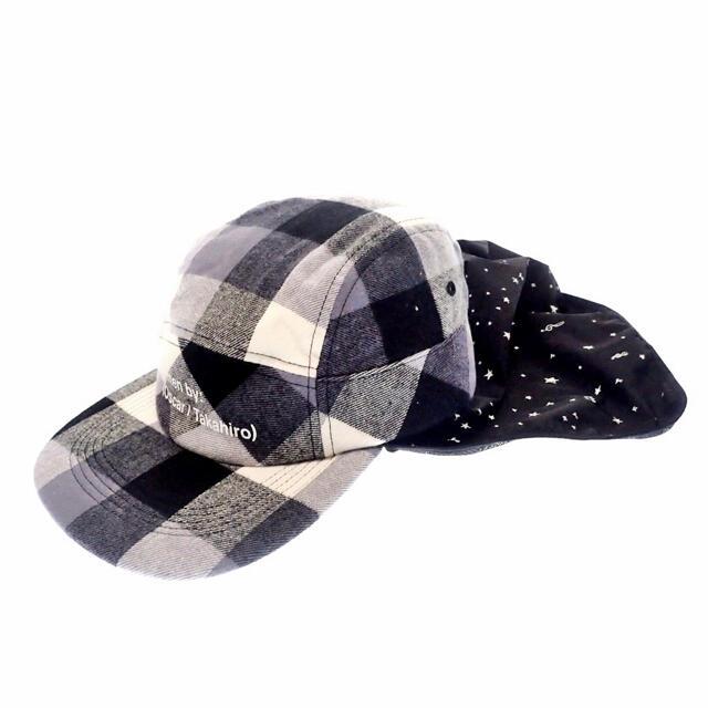 UNDERCOVER(アンダーカバー)のザ ソロイストThe Soloist■19SSチェック柄サンキャップ メンズの帽子(キャップ)の商品写真