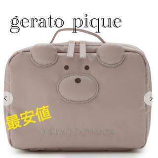 ジェラートピケ(gelato pique)の【完売商品】ジェラートピケ ベア オムツポーチ(ベビーおむつバッグ)
