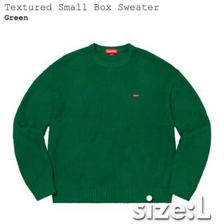 Supreme - L送込!! Supreme SmallBoxセーター緑