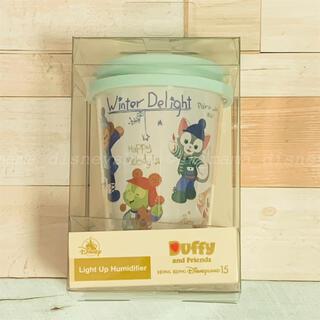 ダッフィー(ダッフィー)の香港ディズニー新商品✨ダッフィーフレンズ ライトアップ卓上加湿器(加湿器/除湿機)