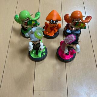 ニンテンドースイッチ(Nintendo Switch)のamiibo  スプラトゥーン(ゲームキャラクター)