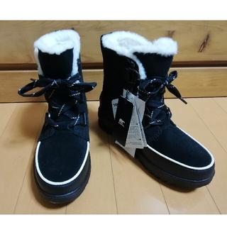 ソレル(SOREL)の新品未使用 ソレル ティボリ 4 ブラック 24cm(ブーツ)