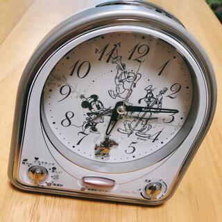 ディズニー(Disney)のディズニー メロディー目覚まし時計 セイコー(置時計)