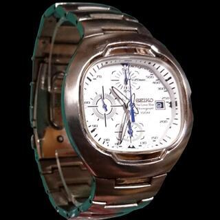 セイコー(SEIKO)のSEIKO The Great Blue クロノグラフ 文字盤ホワイト(腕時計(アナログ))