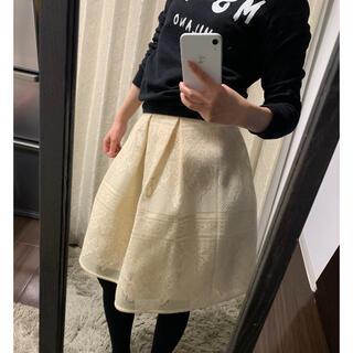 ストロベリーフィールズ(STRAWBERRY-FIELDS)のストロベリーフィールズ ボンディングスカート(ひざ丈スカート)