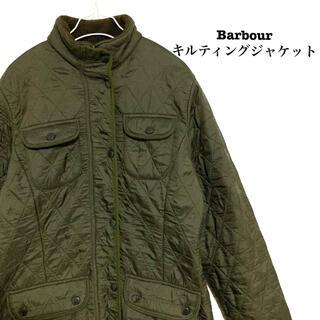 バーブァー(Barbour)の【美品】Barbour キルティングジャケット バブアー ジャケット レディース(ブルゾン)