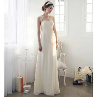ドレス 結婚式 M  チュールドレス ウェディングドレス(ウェディングドレス)