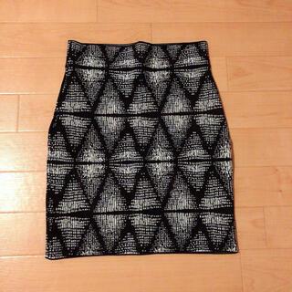 BCBGMAXAZRIA - ★BCBG MAXAZRIA ★バンテージスカート(XS)紺