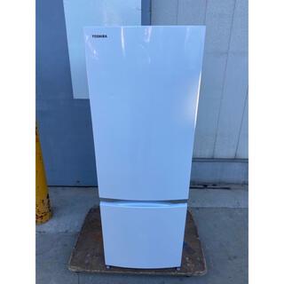 トウシバ(東芝)の東芝冷蔵庫 2ドア 171L  2018年製 GR-M17BS(冷蔵庫)
