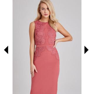 リプシー(Lipsy)のLipsy姉妹ブランド LITTLE MISTRESSローズドレス(ミディアムドレス)