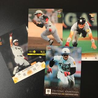 ハンシンタイガース(阪神タイガース)の阪神 プロ野球カード 亀山努 11枚(スポーツ選手)