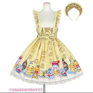 アンジェリックプリティー(Angelic Pretty)のHoney CakeカフェSet(ひざ丈スカート)