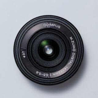 オリンパス(OLYMPUS)のジャンク OLYMPUS M.ZUIKO 14-42mm F3.5-5.6 EZ(レンズ(ズーム))
