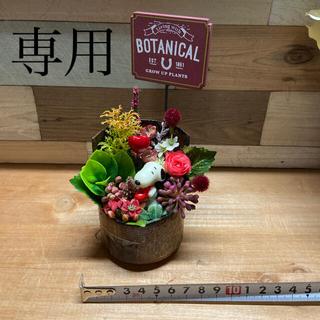 スヌーピーリメ缶フェイクグリーン⑤(その他)