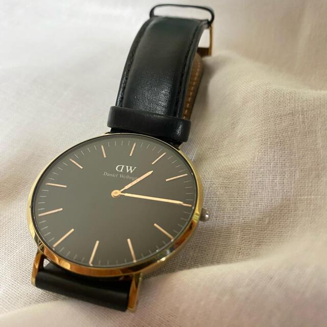 Daniel Wellington(ダニエルウェリントン)のダニエルウェリントン クラシックブラック 40㎜ メンズの時計(腕時計(アナログ))の商品写真