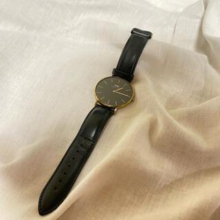 ダニエルウェリントン(Daniel Wellington)のダニエルウェリントン クラシックブラック 40㎜(腕時計(アナログ))