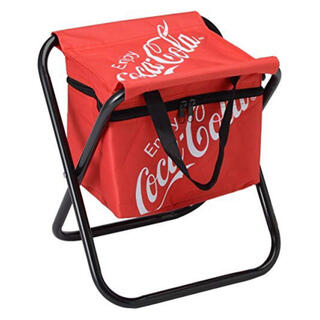 コカコーラ(コカ・コーラ)のコカ・コーラ 保冷バッグ付き イス 2個(その他)