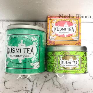 Luna様専用♡新品未開封♡Kusmi Tea クスミティー 紅茶 3点セット(茶)