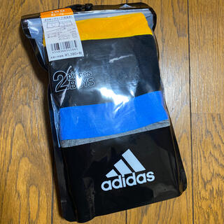 アディダス(adidas)のadidas アディダス 160cm  2枚 ボクサーパンツ(下着)