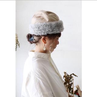 ネストローブ(nest Robe)のmature ha. マチュアーハ  garden hood cap(ニット帽/ビーニー)
