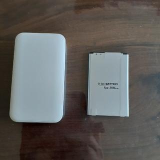 エルジーエレクトロニクス(LG Electronics)の402LG バッテリーチャージャー(バッテリー/充電器)
