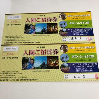 伊豆シャボテン動物公園チケット2枚(動物園)