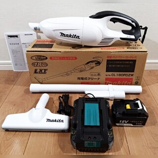マキタ(Makita)の新品・未使用 マキタ 18V充電式クリーナー 充電器セット 掃除機(掃除機)