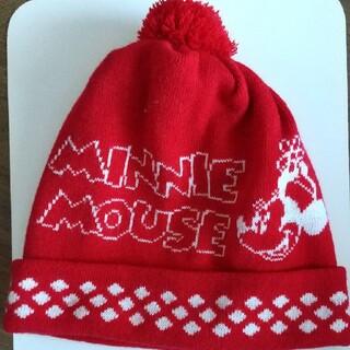 ディズニー(Disney)のニット帽 ミニーマウス(ニット帽/ビーニー)