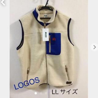 ロゴス(LOGOS)のLOGOS   フリース  ボアフリース ベスト LLサイズ(ベスト)