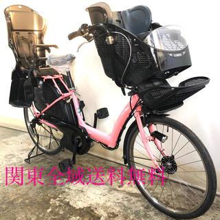 ヤマハ パスキッス 26インチ 3人乗り 8.7ah デジタル 電動自転車(自転車本体)