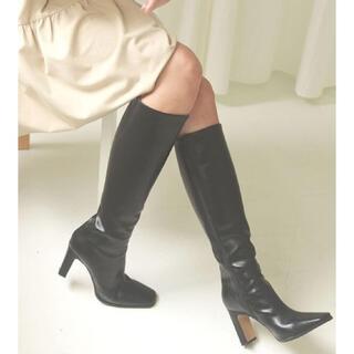 リリーブラウン(Lily Brown)の★新品★ACYMロングブーツBLACK(ブーツ)