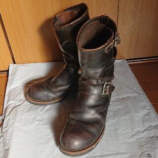 レッドウィング(REDWING)の茶芯♪レッドウィングPT83黒エンジニアリングブーツ2268(ブーツ)