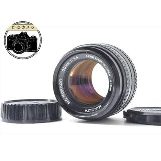 コニカミノルタ(KONICA MINOLTA)のMINOLTA ミノルタ MD ROKKOR 50mm f1.4 分解清掃済 (レンズ(単焦点))