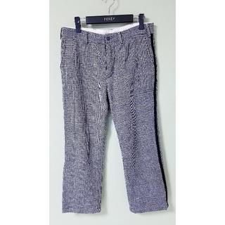 エンジニアードガーメンツ(Engineered Garments)のエンジニアドガーメンツ サイドラインウールパンツ スラックス グレンチェック(スラックス)