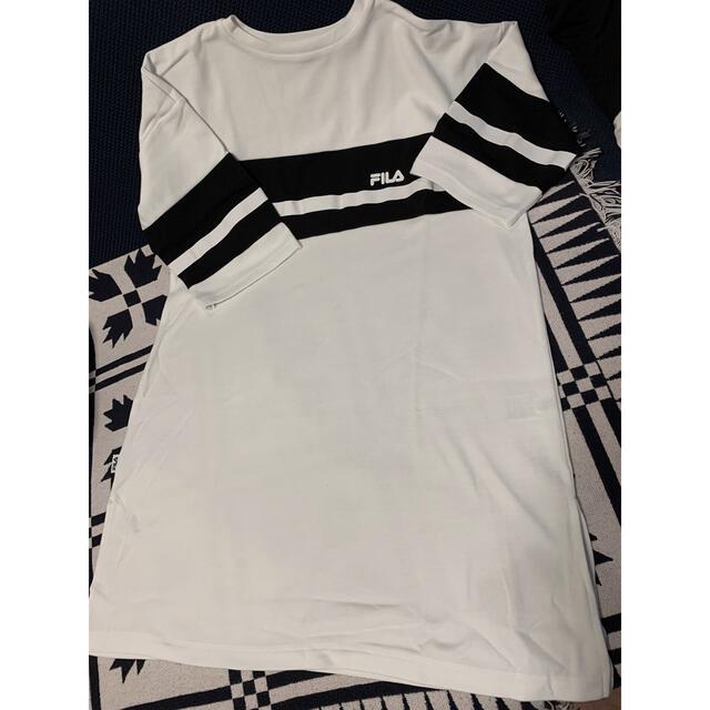 FILA(フィラ)のFILA フィラ Tシャツ ワンピース レディースのトップス(Tシャツ(半袖/袖なし))の商品写真