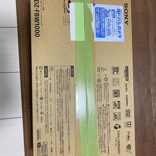SONY - ソニーブルーレイ BDZ -FBW1000 新品