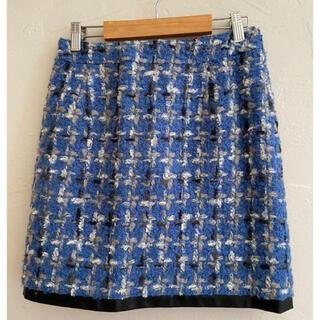 クイーンズコート(QUEENS COURT)のQUEENS COURT クイーンズコート スカート 日本製 サイズ1 (ひざ丈ワンピース)