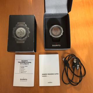 スント(SUUNTO)の商品名:SUUNTO TRAVERSE ALPHA FOLIAGE(腕時計(デジタル))