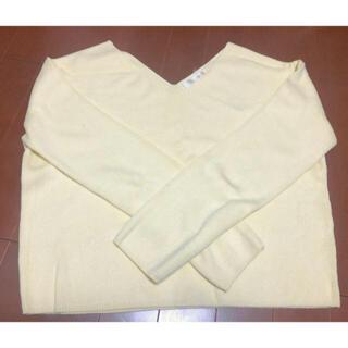 ココディール(COCO DEAL)の【最終お値下げ】cocodeal 薄手ニット(Tシャツ(長袖/七分))
