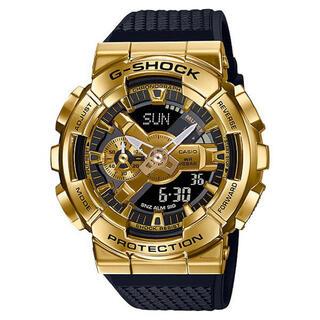 ジーショック(G-SHOCK)のGM-110G-1A9 G-SHOCK メタルカバー ゴールド(腕時計(デジタル))